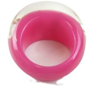 LOUIS VUITTON plastic bague Inclusion Ring M65776 RCB-97