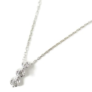 4℃ 18k white gold Diamond necklace RCB-101