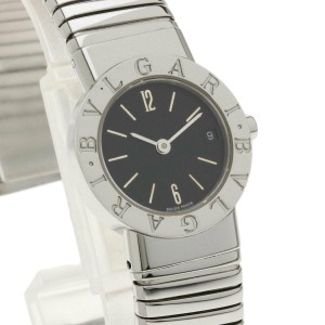 BVLGARI Stainless Steel/Stainless Steel Tubogas BB232TS Watch