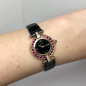CARTIER COLISÈE Quartz GoldPlated Ladies Watch