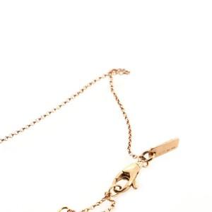 Gucci Diamantissima Pendant Necklace 18K Rose Gold
