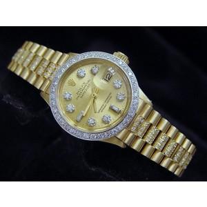 Rolex Datejust 6917 26mm Womens Vintage Watch