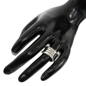 Bulgari B.Zero 1 18K White Gold Band Ring
