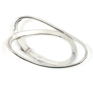 Hermes Sterling Silver Belt Money Clip CHAT-605