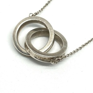 TIFFANY&Co. Silver 1837 Interlocking Circles Necklace