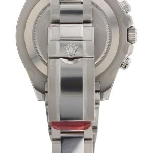 Rolex Yacht Master II Stainless Steel Mens Watch