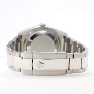 Rolex Datejust 36MM Steel Oyster Watch with Custom Diamond Bezel/Turquoise Diamond Dial 116200