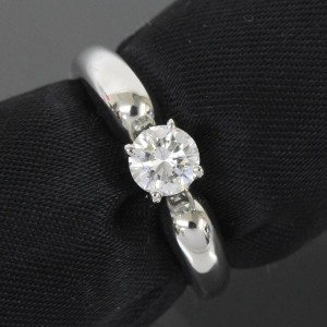 Van Cleef & Arpels Pt950 Platinium Diamond Ring