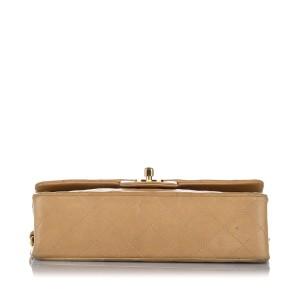 Classic Medium Lambskin Double Flap Bag