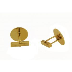 Tiffany & Co. Button Cufflinks In 14K Yellow Golg