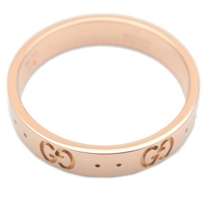 GUCCI 18k Rose Gold ICON Ring