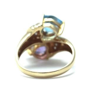 Ponte Vecchio diamond/18k yellow gold Ring