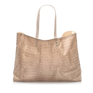 Intrecciomirage Nylon Tote Bag