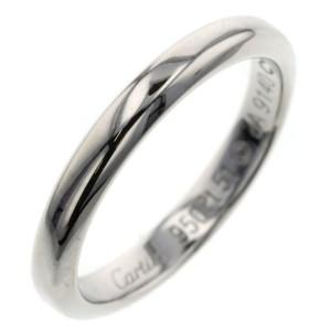 CARTIER Platinum Declaration Ring TBRK-648