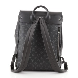 Louis Vuitton Steamer Backpack Monogram Eclipse Canvas