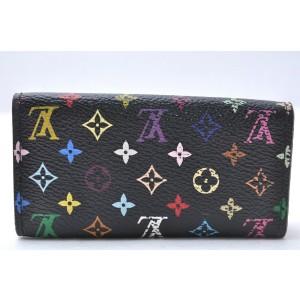 Louis Vuitton Monogram Multicolor Multicles 4 Four Hooks Key Case