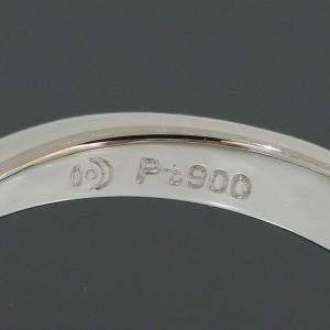 TASAKI 0.50ct Diamond Design Ring Platinum Pt900 US5 w/Box