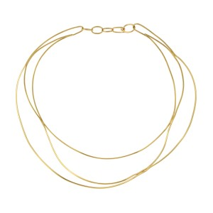 Tiffany & Co. 18K Yellow Gold Peretti Necklace