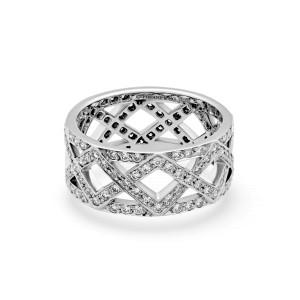 Tiffany & Co. Platinum with 1.10ctw Diamond Ring Size 7