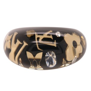 Louis Vuitton Black Inclusion Ring