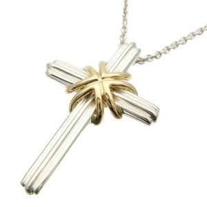Tiffany&Co. Signature Cross Necklace