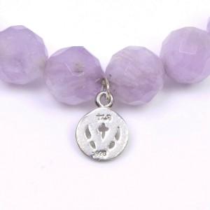 Loree Rodkin silver Colored stone Ble Rubbed T purple Bracelet