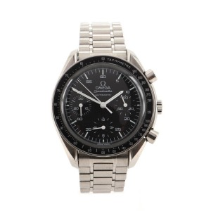 Omega Speedmaster Reduced Chronograph Automatic Watch Stainless Steel 39