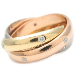 Cartier  15P Diamond Trinity Ring