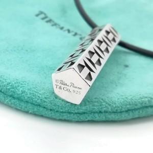 Tiffany & Co. silver Hexagonal Prism Paloma Jellyfish necklace