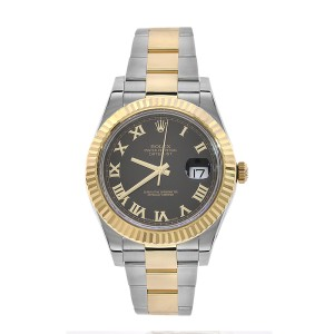 Rolex Datejust II 116333 Stainless Steel & 18K Yellow Gold 41mm Mens Watch