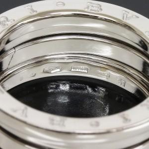 Bulgari B.Zero1 18K White Gold Band Ring