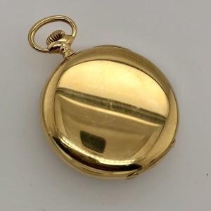 ULYSSE NARDIN LOCLE 18K Yellow Gold 53mm Pocket Watch