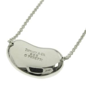 "TIFFANY & Co. Silver Bean 0.8 "" Necklace"