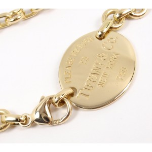 Tiffany & Co Return To Tiffany 18K Yellow Gold Necklace