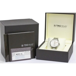 Tag Heuer Carrera WAS2112 Stainless Steel Automatic 39mm Mens Watch