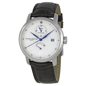 Baume & Mercier Classima MOA8693 Stainless Steel / Leather 39mm Mens Watch