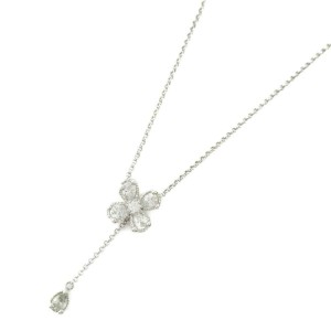 STAR JEWELRY 18k white gold necklace RCB-103