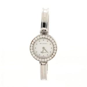 Bvlgari B.Zero1 Bracelet Quartz Watch Stainless Steel with Diamond Bezel 22
