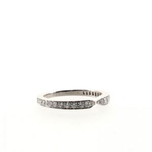 Chaumet Triomphe de Chaumet Wedding Band Platinum with Diamonds Ring
