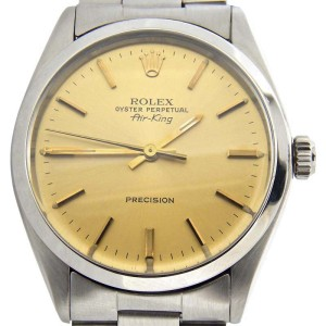 Rolex Air,King 5500 34mm Mens Vintage Watch