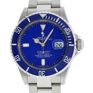 Rolex Submariner 16610 40mm Mens Watch