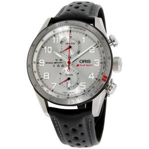 Oris Audi Sport 77476617481LSBLK 44mm Mens Watch
