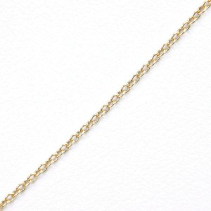 TIFFANY & Co K18 yellow gold/Pt950Platinum Crucy form Necklace NST-48