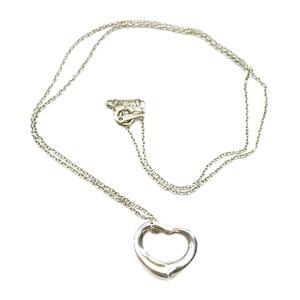 Tiffany & Co. 925 Sterling Silver Open Heart Necklace