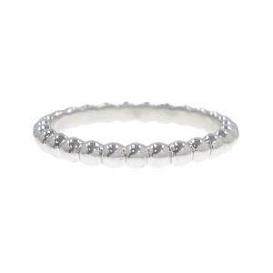 Van Cleef & Arpels Alhambra 18K White Gold Ring Size 8.25