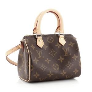Louis Vuitton Speedy Bandouliere Bag Monogram Canvas Nano