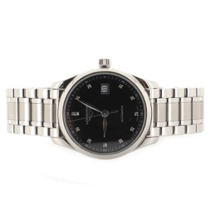 Longines Master Collection Automatic Watch Stainless Steel with Diamond Markers 29