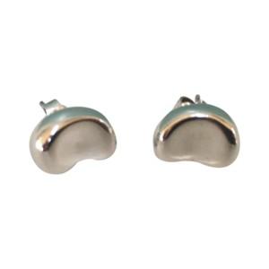 Tiffany Co Elsa Peretti Bean Sterling Silver Earrings