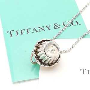 Tiffany & Co. silver Pink Pancake necklace