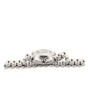 Chopard Happy Sport Classic Round Quartz Watch Stainless Steel with Floating Diamonds 26